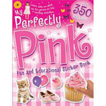 My Perfectly Pink Fun & Educational Sticker Book