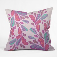 Gabi Wings 1 Throw Pillow