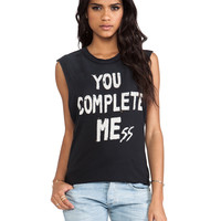 You Complete Mess in Black