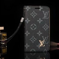 Louis Vuitton LV Fashion Print iPhone X XR XS XS MAX Phone Cover Case For iphone 6 6s 6plus 6s-plus 7 7plus