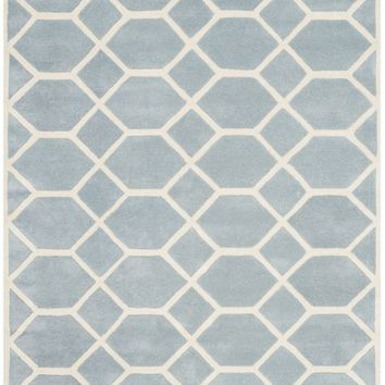 Chatham Transitional Indoor Area Rug Blue / Ivory
