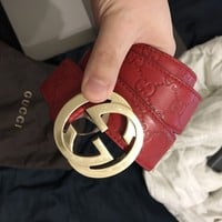 Gucci Belt Red 95/38