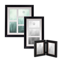 Prinz® Baldwin Wood Picture Frame in Black