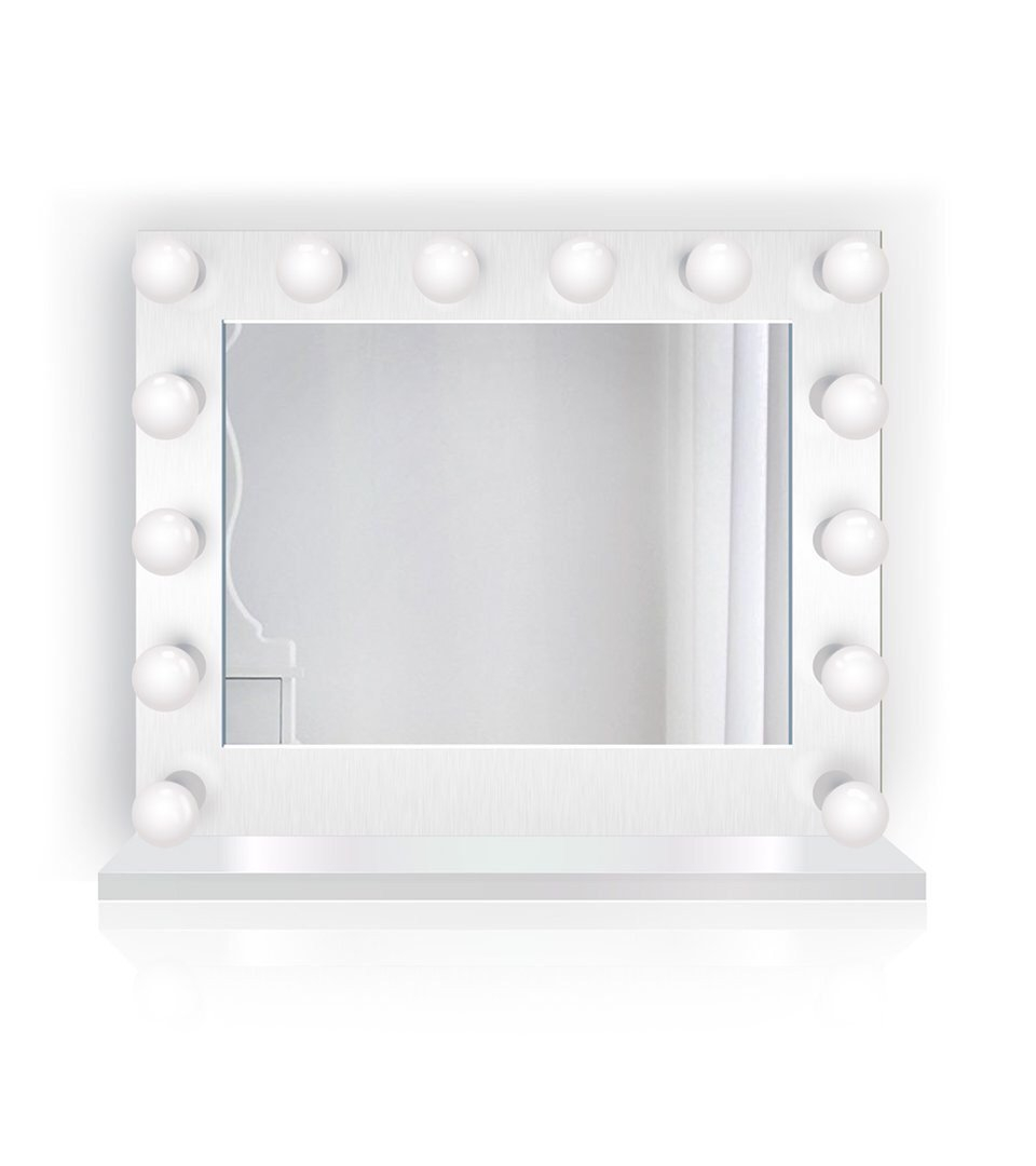 Image of Contessa Hollywood Makeup Mirror LED + Built-in Outlets