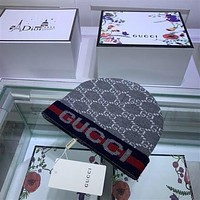 GUCCI knitting The embroidery Hat