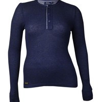 Polo Ralph Lauren Women's Button Placket Solid Henley