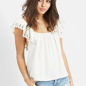 Women's KENDALL + KYLIE at Topshop Pinafore Top,