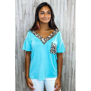 A Way With Words Leopard Top