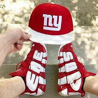 Nike Air More Uptempo men and women Gym shoes-6
