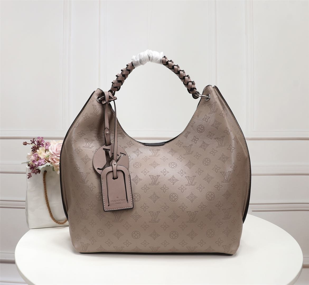 Image of lv louis vuitton womens leather shoulder bag satchel tote bags crossbody 532