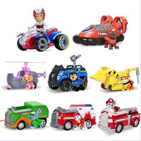 Paw Patrol dog Puppy patrol car Canine vehicle Toy Dog Patrulla Canina Action Figures Juguetes toys gift Genuine