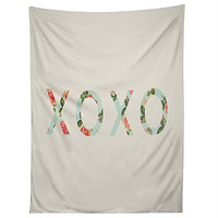 Allyson Johnson Floral XOXO Tapestry