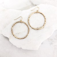 Everyday Gold Hoop Earrings