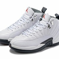 "Air Jordan 12 ""White&Black"" New Color Sneaker"