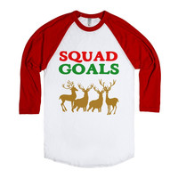 SQUAD GOALS CHRISTMAS REINDEER