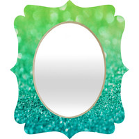Lisa Argyropoulos Sea Breeze Quatrefoil Mirror