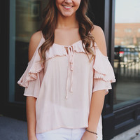 Blushing Blossoms Top