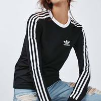 Three-Stripe Top by Adidas Originals - Topshop