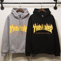 Couple Hip-hop Cotton Hoodies [8598659587]
