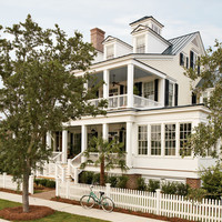 River Dunes Captain's House - traditional - exterior - by Historical Concepts