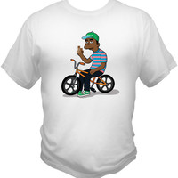 Tyler The Creator Golf T-SHIRT OFWFKTA, Odd Future, Frank Ocean, Earl Sweatshirt, Golf Wang Wolf