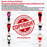 Beware of cheap imitations!  The genuine designer product is only available from me!