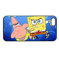 Spongebob and Patrick Star Iphone 5 case iphone 5 cover
