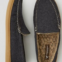 AEO Men's Felted Moccasin (Charcoal)