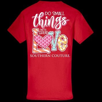 Southern Couture Classic Small Things Love XoXo T-Shirt