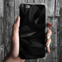 Black Geometric Polygon Triangle 2 iPhone 6/6S, 6 Plus Case 4S, 5S, Galaxy Cover. Mobile Phone Cell. Gift Idea. Birthday gift. For Him, Her