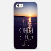 this moment is your life iPhone & iPod case by Sylvia | Casetagram