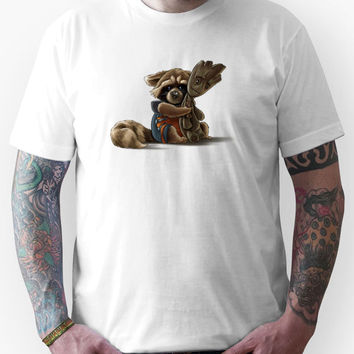 Rocket and Groot Unisex T-Shirt