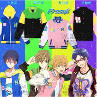Anime Free! Iwatobi Swim Club Haruka Nanase Nagisa Hazuki Makoto Tachibana Rin Matsuoka Cosplay Jacket-in Clothing from Novelty & Special Use on Aliexpress.com | Alibaba Group