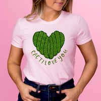 Cacti Love You Womens Shirt