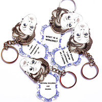Dowager keychain - Quotes from Downton Abbey