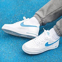 inseva Nike Air Force New fashion hook couple running shoes