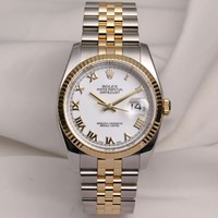 Full-Set Rolex DateJust 116233 Stainless Steel & 18K Yellow Gold