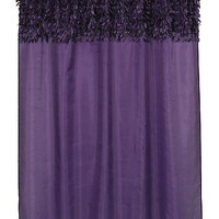 """Latin Fever Dance Party Fabric Shower Curtain 70"""" x 72"""" (Purple)"""