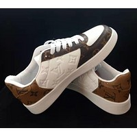 LV Louis Vuitton new men's and women's casual trendy sports shoes