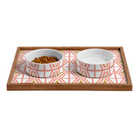Heather Dutton Metro Fusion Pet Bowl and Tray