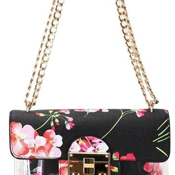 LILY - Floral Jelly Crossbody