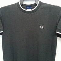 Sale Vintage 1980s 90s Fred Perry Ringger Mods Punk Skin Head Oioioi West Ham TShirt