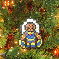 X-men Inspired Storm Bead Sprite Ornament, Magnet, or Wall Decor