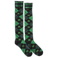 Xhilaration® Juniors St. Patrick's Day Knee High Socks - Assorted Colors/Patterns One Size Fits Most