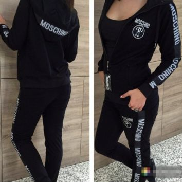 ''MOSCHINO'' WOMEN TRACKSUIT SUITS COAT PANTS SPORT JACKET