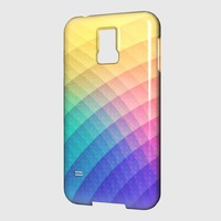 Fancy Spectrum Pattern Design (HDR) - Phone Case Samsung Galaxy Premium Case | Spreadshirt