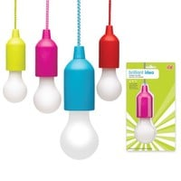 Colorful Brilliant Idea Bulb - Portable LED Light
