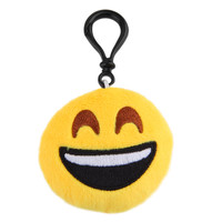Small Facial Expression Multiple Emoticon Cool Wink Key Chain Toys Gift Cute keychain