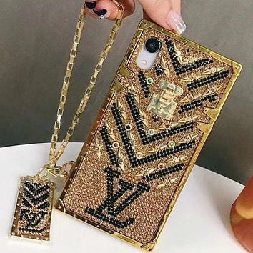 Louis Vuitton LV iPhone Phone Cover Case For iphone 7 7plus 8 8plus X XR XS MAX 11 Pro Max 12 Mini 12 Pro Max