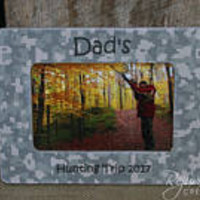 4 x 6 frames gifts for dad fathers day daddy gifts hunting gifts personalized frames personalized gift items camouflage gifts camo gifts